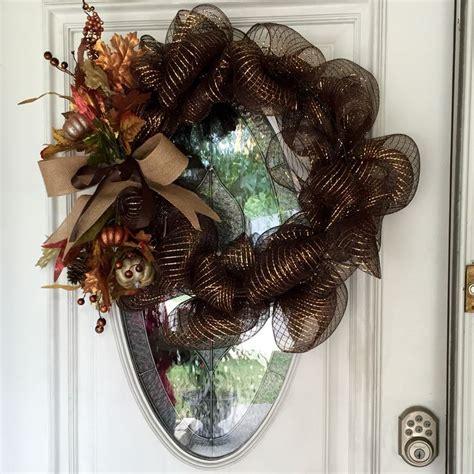 Beautiful Front Door Wreaths Beautiful Easy To Make Fall Wreath For Front Door Wreaths Front Doors