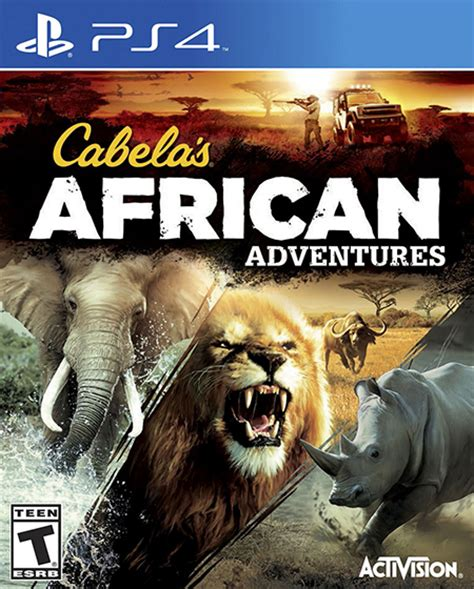 cabelas amarillo cabelas adventures ps4 play 4 cabelas africa juego