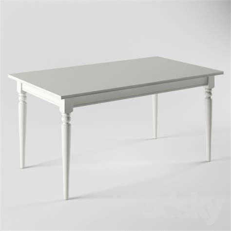 ikea ingatorp 3d models table ikea ingatorp