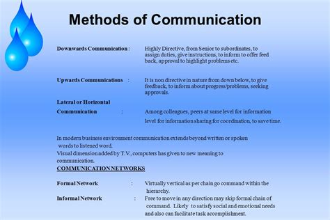 Importance Of Economics In Mba by Importance Of Written Communication Chapter 8