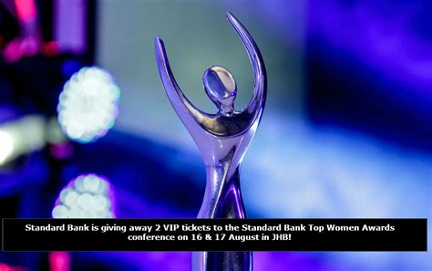 Best Conference Giveaways 2017 - standard bank top women awards conference giveaway