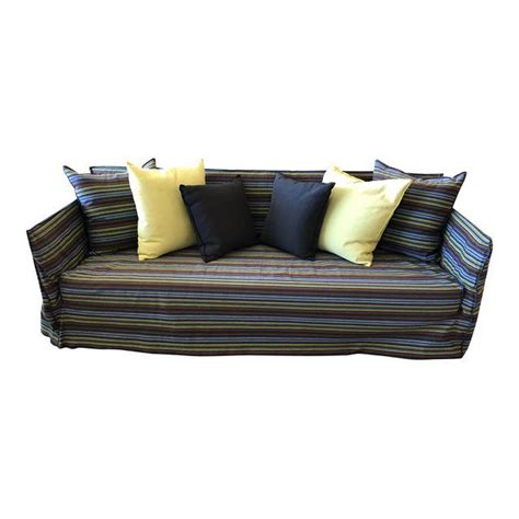 gervasoni ghost sofa price contemporary gervasoni steel and wood ghost sofa original