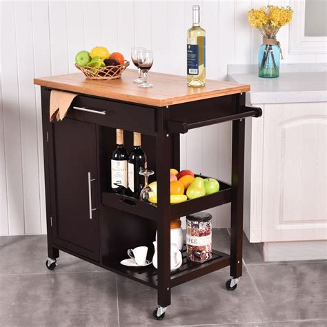kitchen island trolley bamboo kitchen island trolley cart kitchen dining