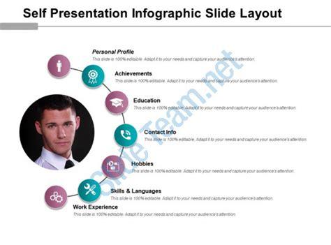 Self Presentation Infographic Slide Layout Powerpoint Guide Powerpoint Presentation Slides Self Presentation Template