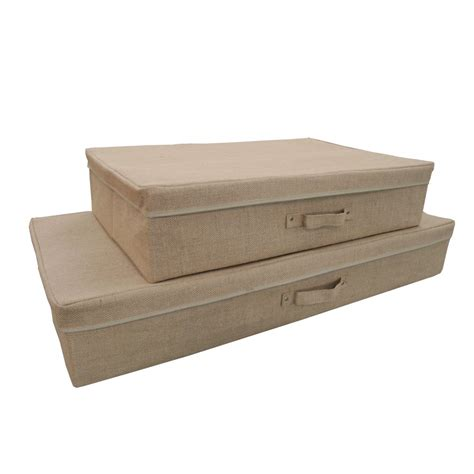under bed storage containers hessian under bed storage box kdeb pinterest bed