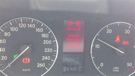 mercedes c class engine warning light mercedes c class battery alternator warning light fiat