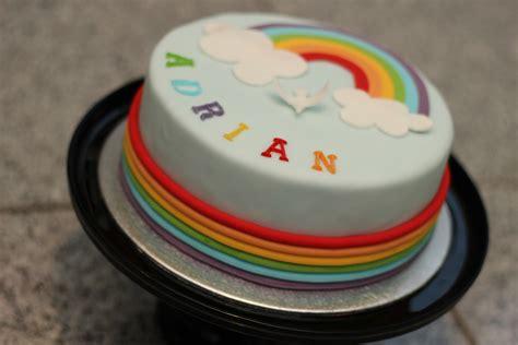 Regenbogen Kuche by Adrians Torte Zur 1 Heiligen Kommunion Das Thema War