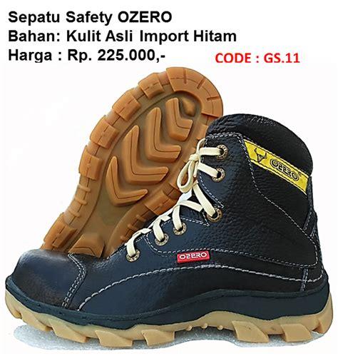 Sepatu Safety Ozero pabrik sepatu safety murah sni jual septu safety murah sni