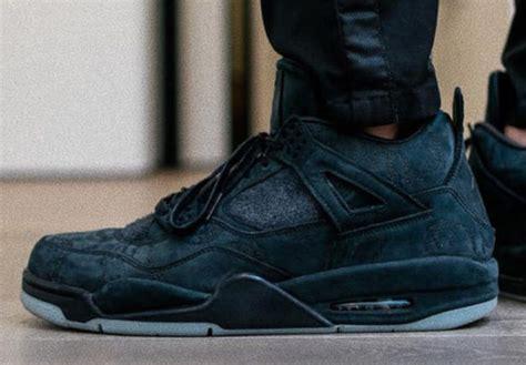 kaws  air jordan  black cyber monday sneaker bar detroit