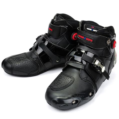 high end motorcycle boots motorcycle boots pro biker high ankle racing boots bikers