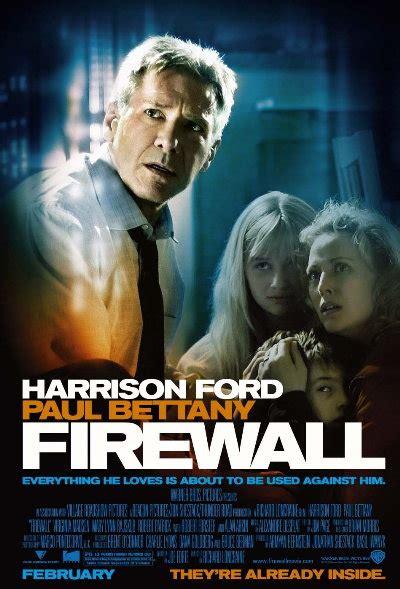 firewall harrison ford firewall poster harrison ford virginia madsen