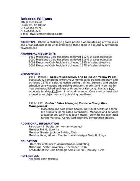 How To Write A Resume Letter For by Doc 655775 About Me Resume Exles Template Bizdoska