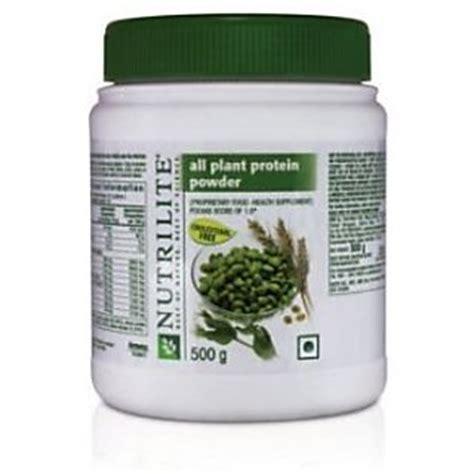 Nutrilite Hi Protein Powder nutrilite all plant protein powder 500g buy nutrilite all