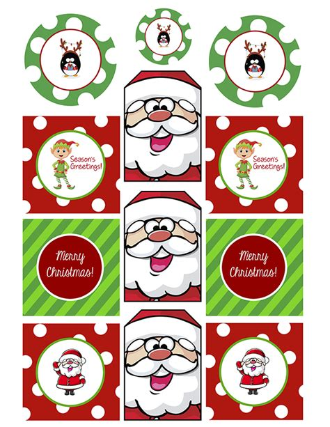 printable xmas stickers free printable christmas gift tags