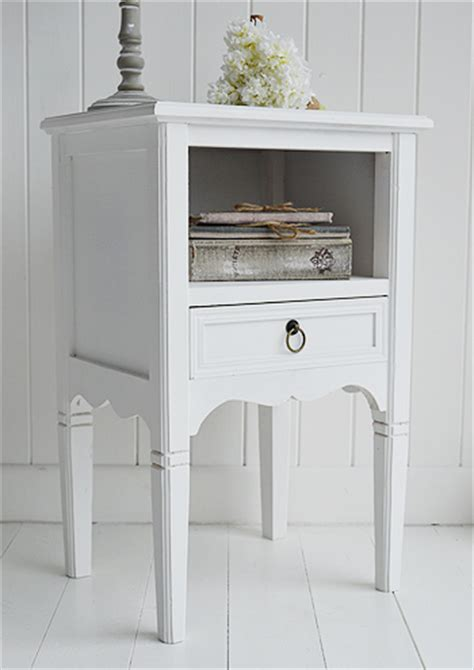 white bedroom end tables cove bay white bedside table bedroom furniture