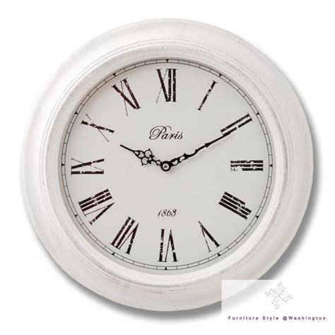 shabby chic wall clocks large wall clocks kitchen shabby chic vintage station