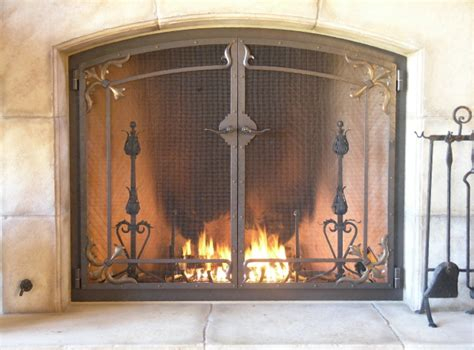Screen Fireplace by Custom Fireplace Screens Screens Handcrafted By