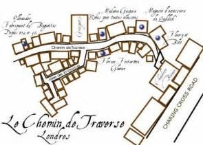 le plan du chemin de traverse harry potter 1 2 3 4 5
