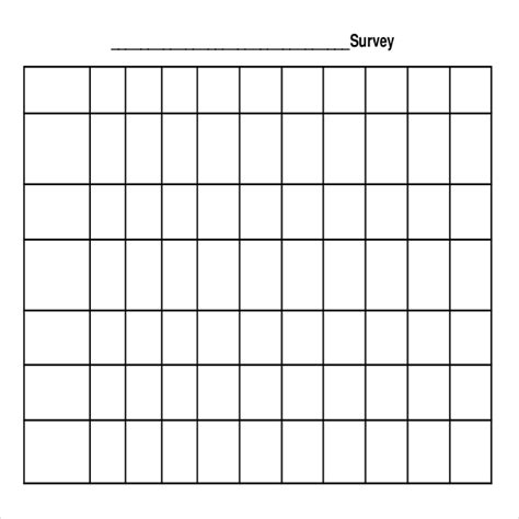 free survey templates free survey template 9 download