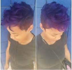 hair styles that are and layerd with purple die in it 23 pretty hairstyles for black women 2015 styles weekly