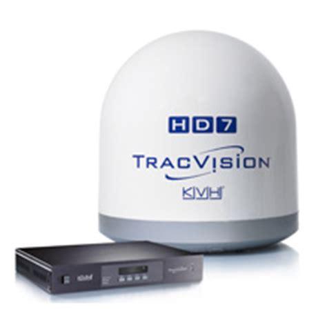 satellite tv antenna from kvh hdtv for boats