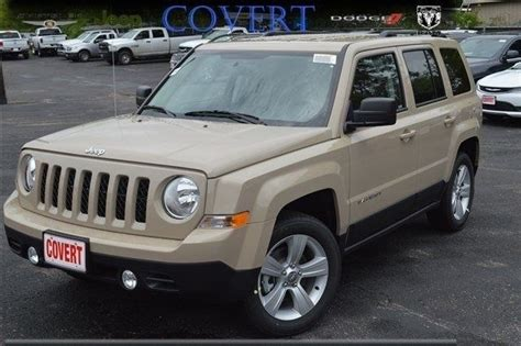 tan jeep patriot 1c4njpfb4hd102118 j08859 new jeep latitude tan suv 2 4l