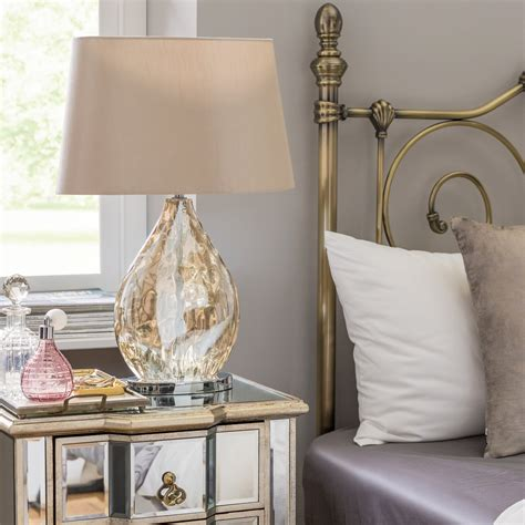 fairmont park electroplated cm bedside table lamp