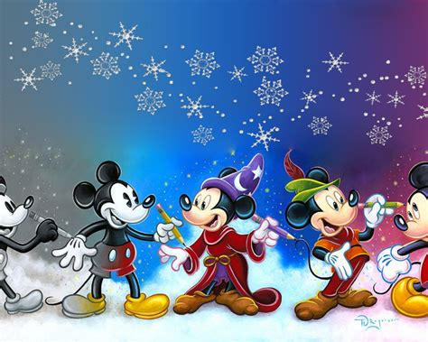 mickey mouse cartoons art cinemascopic desktop wallpaper hd high resolution
