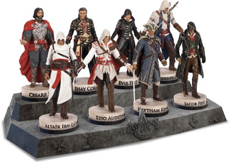 assassins creed the official assassin s creed collection is a magazine with official figurines segmentnext