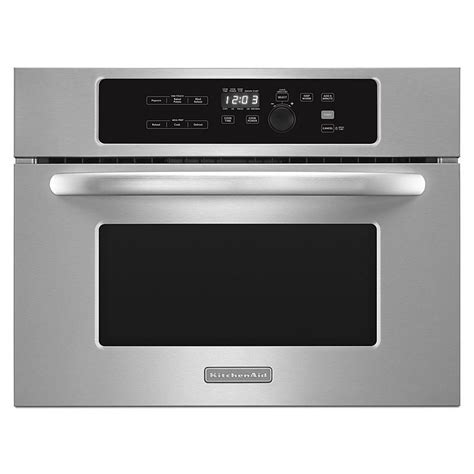 Kitchen Aid Microwaves by Kitchenaid Kbms1454bss 24 Stainless Steel Built In
