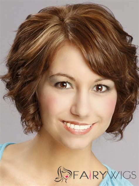 wigs for fat neck women sophisticated daisy fuentes short wavy lace front human