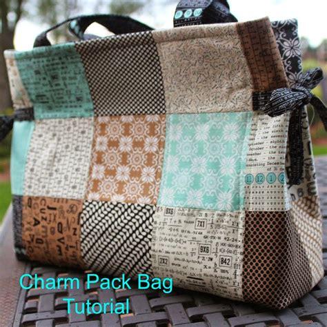 charm pack bag tutorial in the garden bloglovin