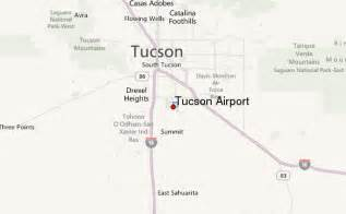 airports arizona map tucson international airport location guide