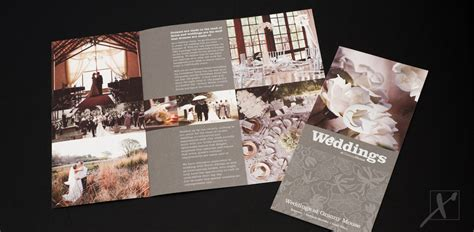 Wedding Brochure Hotel by Mouse Country Hotel Weddings Brochures And Flyers