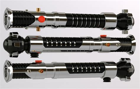 Design Custom Wars 010 3d obi wan lightsaber by araiel on deviantart