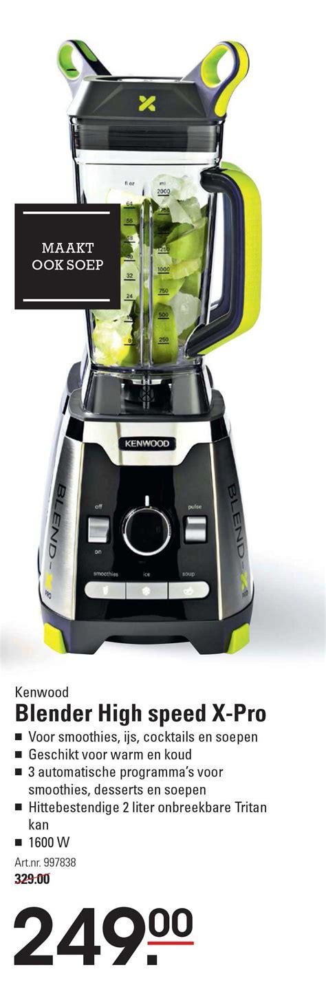 Ken Blender kenwood kmix kmx50rd keukenmachine aanbieding bij wehk
