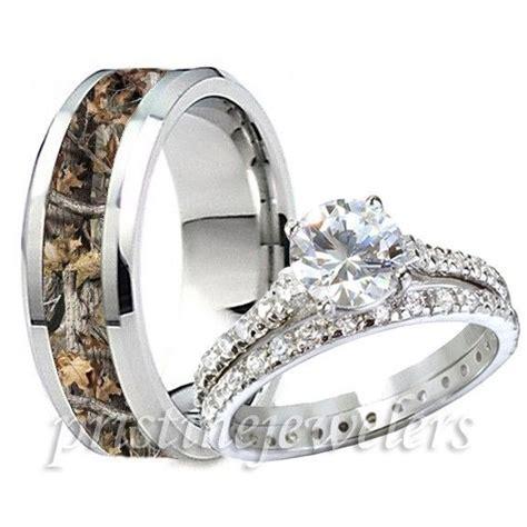sterling silver ring mens titanium camouflage oak camo