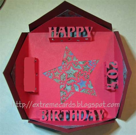 How To Make Happy Birthday Pop Up Card Template by Cards And Papercrafting Blintz Fold Happy