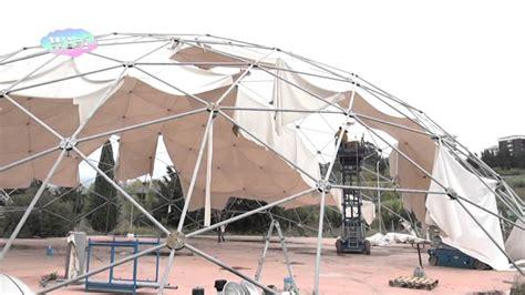 cupole geodetiche cosenza studenti geometra progettano l area delle