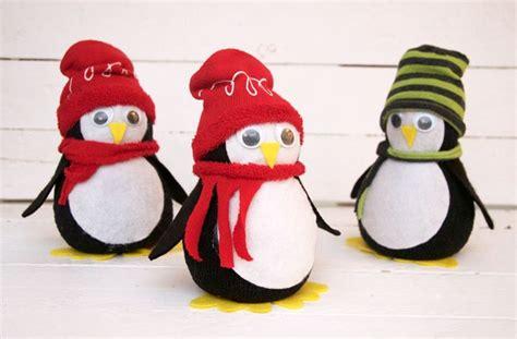 diy sock penguin diy no sew sock penguin crafts