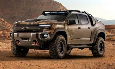 chevy concept truck chevy colorado zh2 concept makes hydrogen cars cool