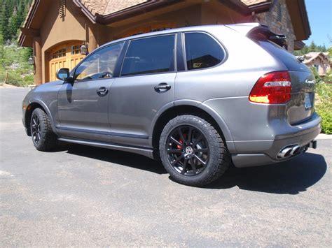 porsche cayenne matte black 2009 cayenne gts w 18 quot matte black victor quot zehn quot wheels