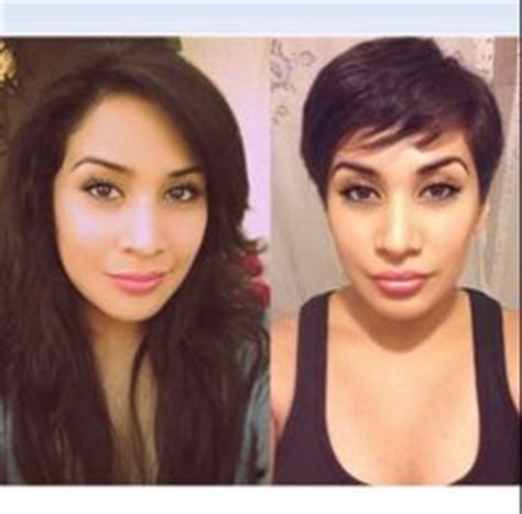 before and after hair extensions pixie cut to longer hair 1000 images about haircuts and color before and after on