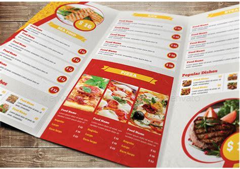 tri fold menu template anuvrat info