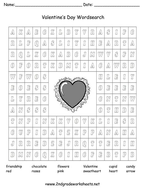 valentines day worksheets s day printouts and worksheets