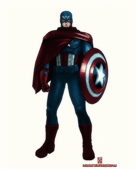 Protège Matelas 160x200 2315 by Captain America Redesign By Greatscottart On Deviantart