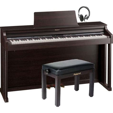 Roland Piano Stool by Roland Hp 302 Digital Piano Rosewood With Free Roland