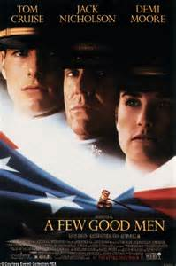 film tom cruise and demi moore nbc plans live tv production of a few good men play