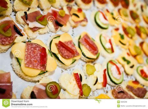 canapes m canapes stockfoto bild gesund schweinefleisch
