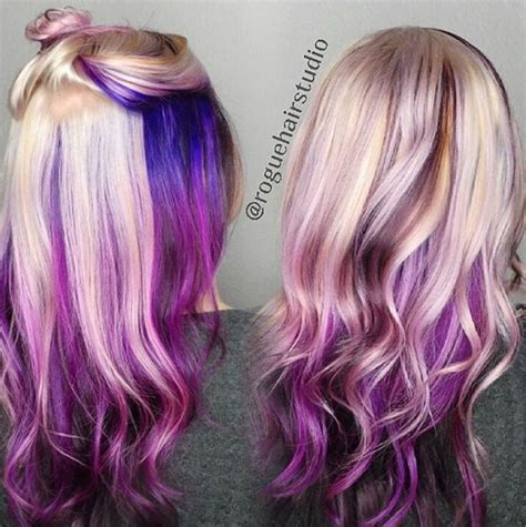 20 purple ombre hair color ideas thick hairstyles 20 purple ombre hair color ideas popular haircuts of hair